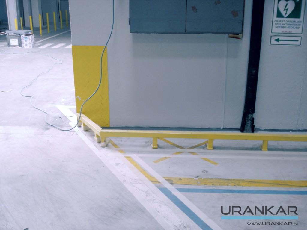 Varnostna ograja in mreže