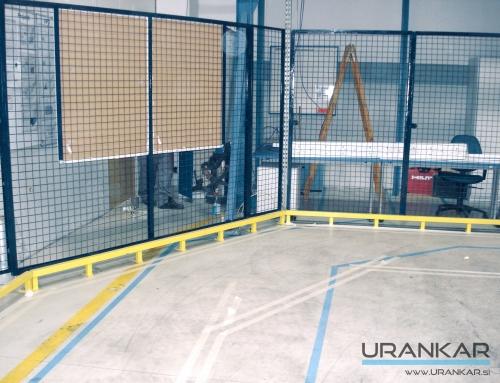 Zaščitne mreže in varnostne ograje