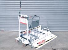 transportna oprema, transportni vozički, voziček, trolley, carts, receiving trolley, milk run, kompozicija, transport material